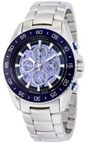 Michael Kors MK9024 Jetmaster Skeleton Dial Stainless Steel Automatic 45mm Mens Watch