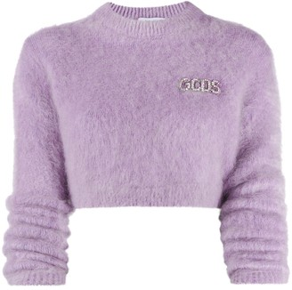 GCDS Fluffy Knit Jumper