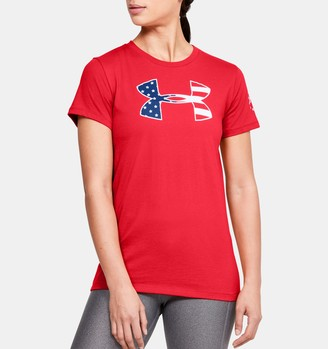 Under Armour Women's UA Freedom Stars & Stripes T-Shirt