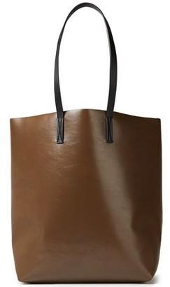 Marni Two-tone Faux Leather Tote