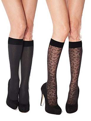 Charnos 2Pp Animal & Rib Knee High