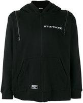 Kokon To Zai multi-zip hoodie