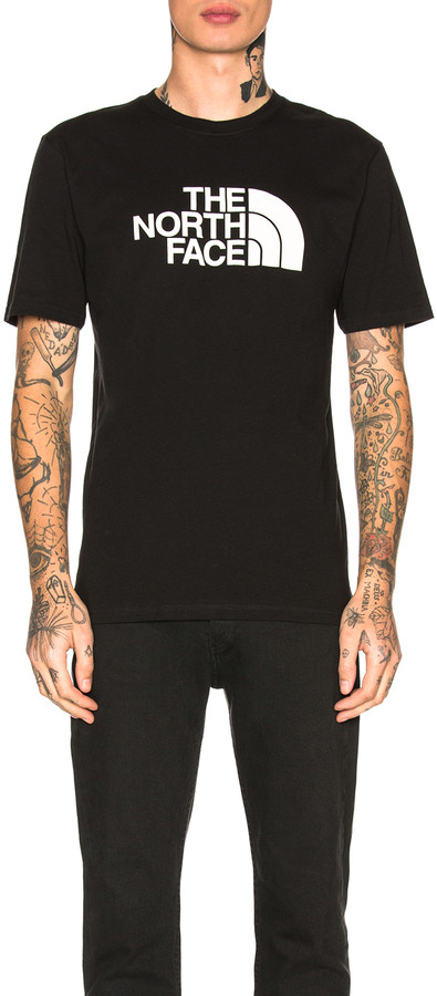 The North Face Half Dome Tee in TNF Black | FWRD