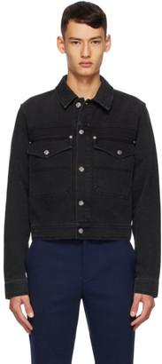 Kenzo Black Cotton Denim Jacket