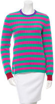 Gucci Fall 2016 Striped Cashmere-Blend Sweater w/ Tags