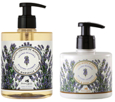 Relaxing Lavender Liquid Soap and Hand & Body Lotion Set