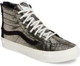 Vans 'Sk8-Hi Slim' Metallic Leather Sneaker (Women)