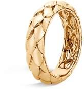 John Hardy 18K Yellow Gold Legends Cobra Band Ring