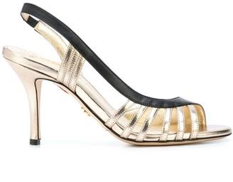 Charles Jourdan Open Toe Heel Sandals