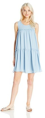 Soprano Juniors Women's S/l Rouched Bbdoll Dress