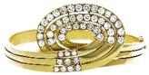 Estate Diamond Swirl Bracelet