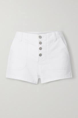 J Brand - Nomey Denim Shorts - White