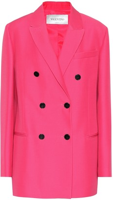 Valentino Silk and wool jacket