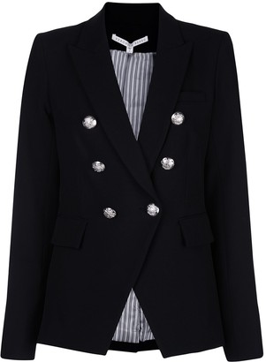Veronica Beard fitted double breasted blazer