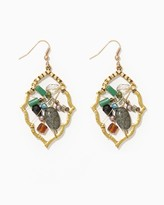Charming charlie Artisan Wire Wrap Earrings
