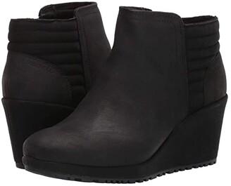Merrell Tremblant Wedge Bluff Waterproof (Black) Women's Boots