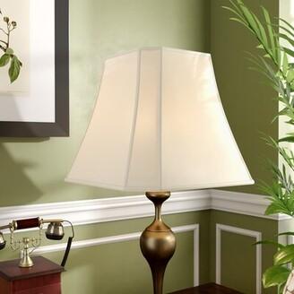 """Alcott Hillâ® 16"""" Silk Bell Lamp Shade Alcott HillA Color: White"""