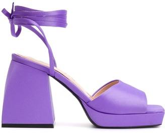 Nodaleto Ankle Strap Sandals
