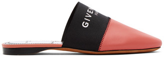 Givenchy Pink Bedford Mules