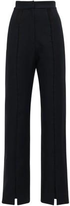 MATÉRIEL High Waist Twill Pants W/ Front Cutouts