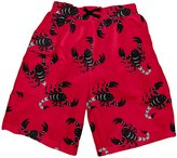 I Play Ultimate Swim Diaper Pocket Trunks (Baby/Toddler) - Red-4T