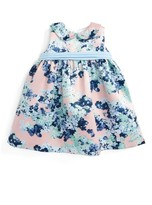 Luli & Me Infant Girl's Hydrangea Print Dress