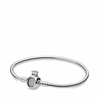 Pandora Women Sterling Silver Bangle Bracelet - 598286CZ-19