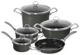 Chantal Copper Fusion 9 Piece Cookware Set - Black