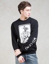 Welcome Skateboards Krampus Lightweight Crew Fleece Sweatshirt