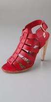 Cajun High Heel Gladiator Sandals
