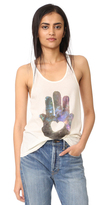 Spiritual Gangster Night Sky Hamsa Racer Back Tank
