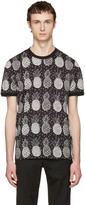 Dolce & Gabbana Black Pineapple T-Shirt