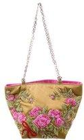 Valentino Satin Embellished Evening Bag