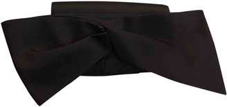 Christian Louboutin Black Silk Clutch bags