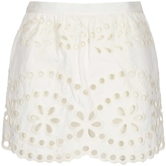RED Valentino St. Gallen Embroidery Shorts