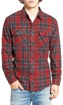 Brixton Men's 'Bowery' Twill Flannel Shirt