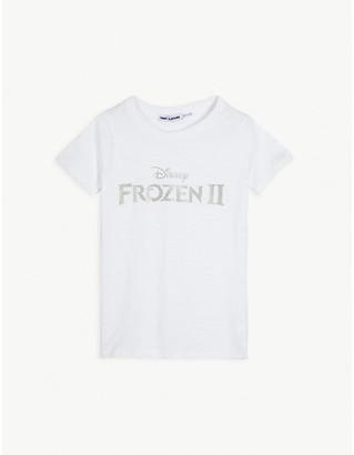 Fabric Flavours Disney Frozen II logo cotton T-shirt 3-10 years