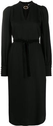 Zimmermann Buckle-Collar Dress