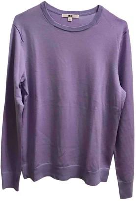 Uniqlo Purple Wool Knitwear for Women