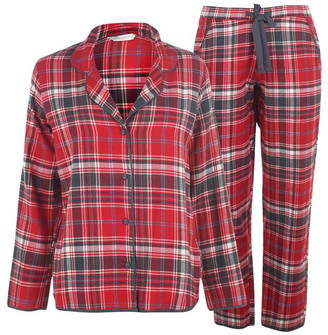 Cyberjammies Red Check Pyjama Set