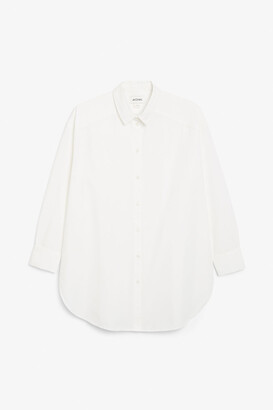 Monki Classic oversized shirt