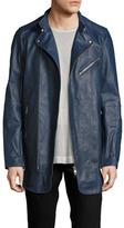 Diesel Black Gold Lartefice Leather Biker Jacket
