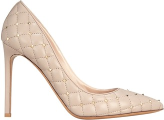 Valentino Quilted Rockstud Leather Pumps