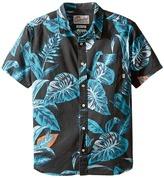 Quiksilver Aloe Shirt Short Sleeve Woven Top (Big Kids)