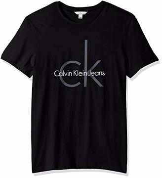 Calvin Klein Men's Short Sleeve Monogram Logo T Shirt