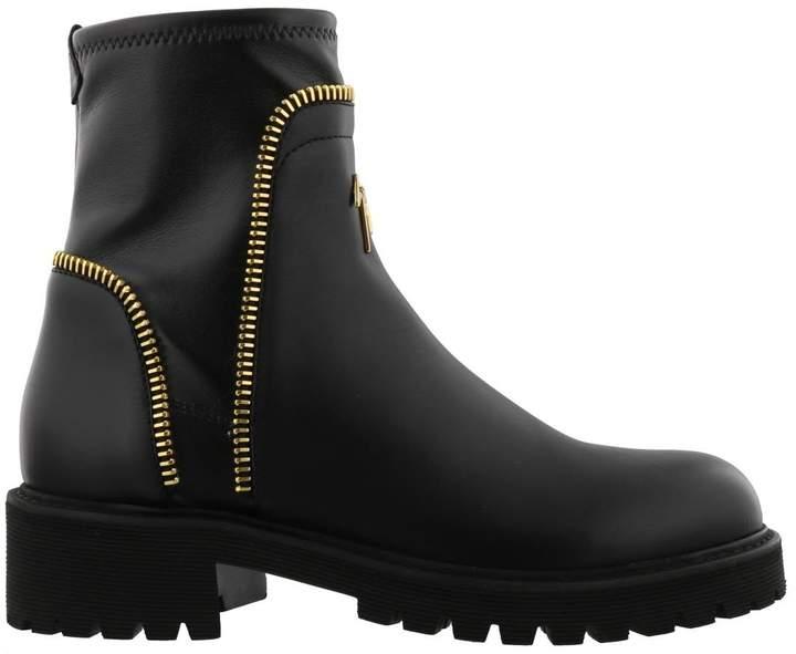 Giuseppe Zanotti Combat Ankle Boot
