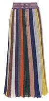Missoni Metallic wool-blend skirt