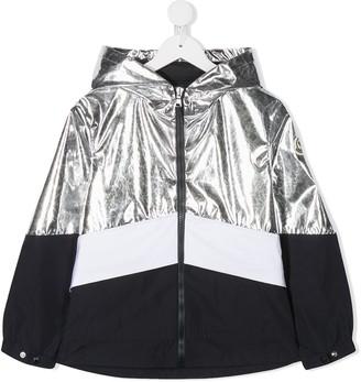 Moncler Enfant Metallic Panel Jacket