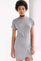 Silence & Noise Silence + Noise Wrap T-Shirt Dress
