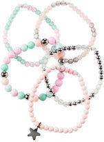 Carter's 5-Pack Metallic Beaded Bracelets